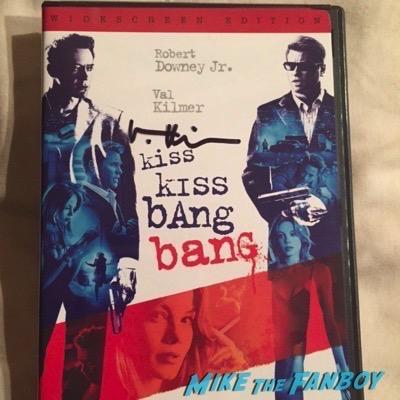 val-kilmer-signed kiss kiss bang bang dvd
