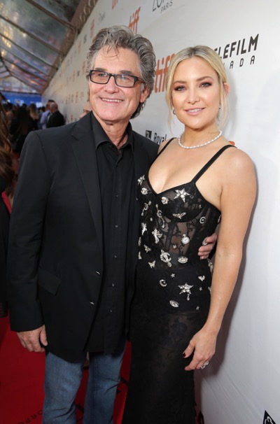 "Kurt Russell and Kate Hudson seen at Lionsgate's ""Deepwater Horizon"" premiere at the 2016 Toronto International Festival on Tuesday, Sept. 13, 2016, in Toronto. (Photo by Eric Charbonneau/Invision for LionsgateAP Images)"