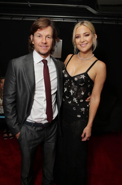"Mark Wahlberg and Kate Hudson seen at Lionsgate's ""Deepwater Horizon"" premiere at the 2016 Toronto International Festival on Tuesday, Sept. 13, 2016, in Toronto. (Photo by Eric Charbonneau/Invision for LionsgateAP Images)"