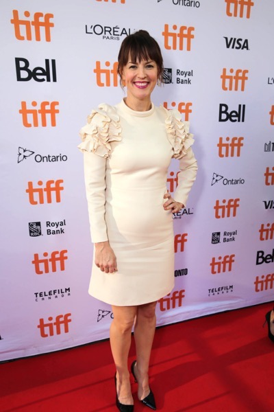 """Rosemarie DeWitt seen at Summit Entertainment's """"La La Land"""" premiere at the 2016 Toronto International Film Festival on Monday, Sept. 12, 2016, in Toronto. (Photo by Eric Charbonneau/Invision for LionsgateAP Images)"""