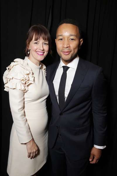 "Rosemarie DeWitt and John Legend seen at Summit Entertainment's ""La La Land"" premiere at the 2016 Toronto International Film Festival on Monday, Sept. 12, 2016, in Toronto. (Photo by Eric Charbonneau/Invision for LionsgateAP Images)"