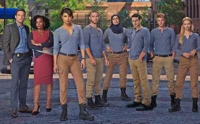 PRIYANKA CHOPRA Quantico season one dvd review shirtless