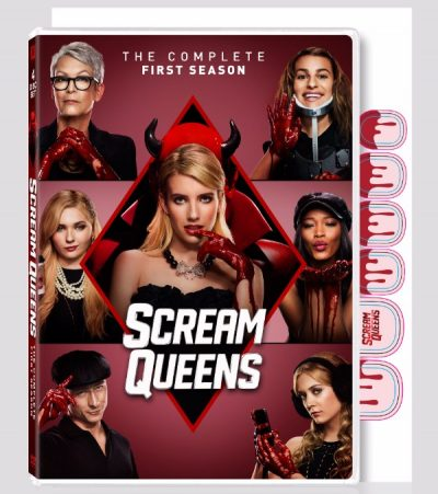 scream queens season one dvd cover