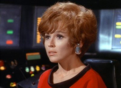 Barbara Baldavin star trek