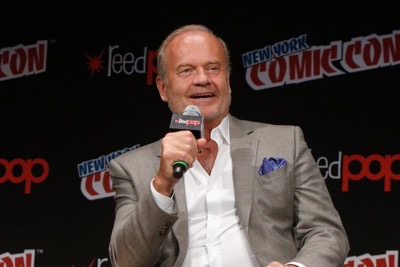 NEW YORK, NY - OCTOBER 08: Actor Kelsey Grammer speaks onstage as Netflix presents Dreamworks Trollhunters during New York Comic Con at Madison Square Garden on October 8, 2016 in New York City.  (Photo by Lars Niki/Getty Images for Netflix) *** Local Caption *** Kelsey Grammer