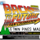 back to the future fan celebration logo