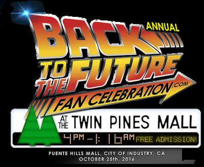back to the future fan celebration logo
