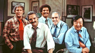 barney miller cast photo hal linden