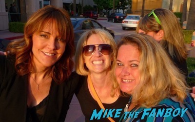 christa miller meeting fans selfie rare