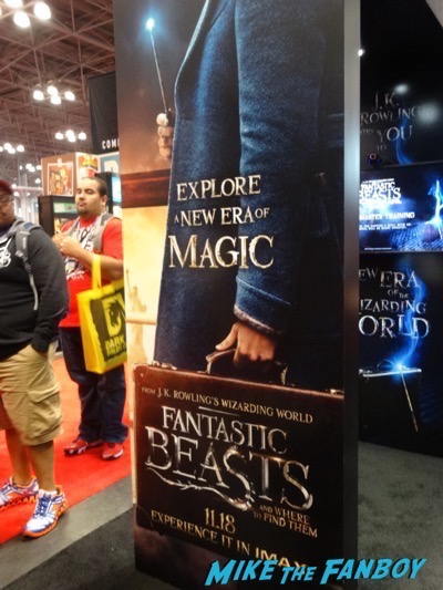 Fantastic Beasts and Where To Find Them props and costumes NYCC 2016