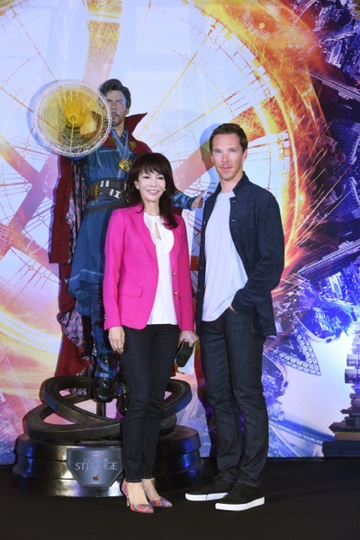Marvel Studios' DOCTOR STRANGE Global Tour Fan Event in Hong Kong.