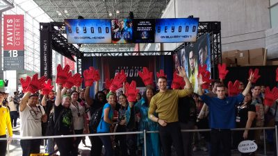 NYCC star trek beyond booth