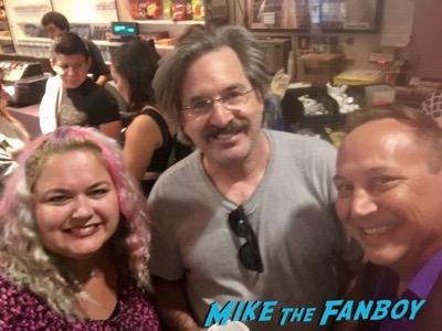 robert carradine fan photo selfie rare promo meeting fans