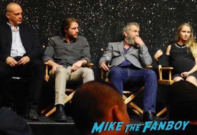 Fanboy Fail Friday! Getting The Big Diss From Mel Gibson and The Hacksaw Ridge Cast!