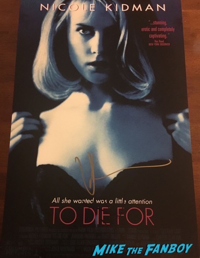 nicole-kidman-signed-autograph-to die for poster-psa-1