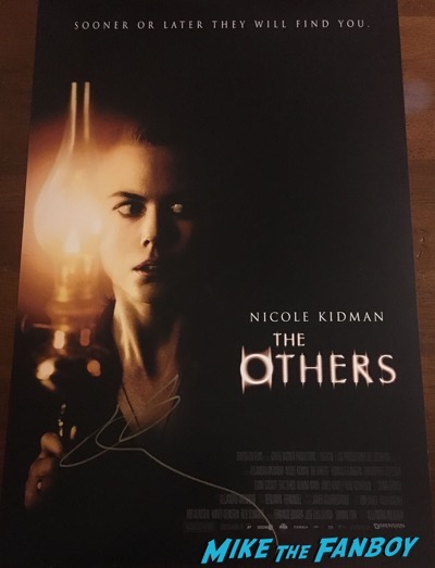 nicole-kidman-signed-autograph-The Others poster-psa-2