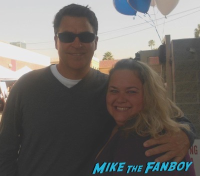 ted mcginley revenge of the nerds fan photo rare selfie