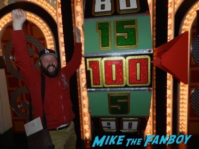 The Price is Right set spinning the giant wheel