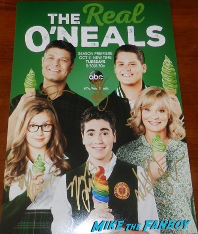 the-real-oneals-cast signed autograph season two poster martha plimpton