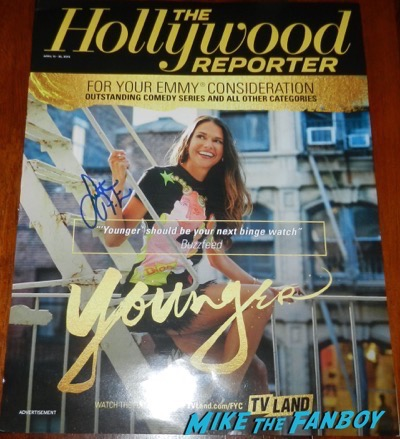 Sutton Foster signed autograph The Hollywood Reporter magazine Cover
