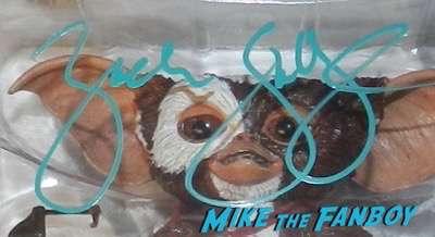zach galligan signed autograph gizmo SDCC exclusive figure zach galligan