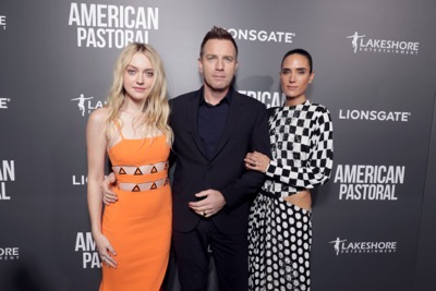 "Dakota Fanning, Director/Actor Ewan McGregor and Jennifer Connelly seen at Lionsgate Los Angeles Special Screening of ""American Pastoral"" at Samuel Goldwyn Theater on Thursday, Oct. 13, 2016, in Beverly Hills, CA. (Photo by Eric Charbonneau/Invision for Lionsgate/AP Images)"