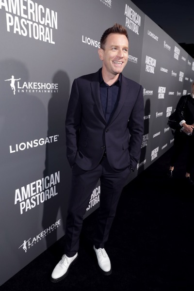 "Director/Actor Ewan McGregor seen at Lionsgate Los Angeles Special Screening of ""American Pastoral"" at Samuel Goldwyn Theater on Thursday, Oct. 13, 2016, in Beverly Hills, CA. (Photo by Eric Charbonneau/Invision for Lionsgate/AP Images)"