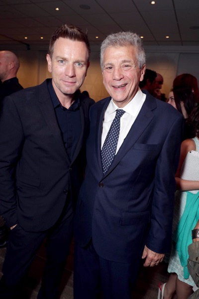 """Director/Actor Ewan McGregor and Writer John Romano seen at Lionsgate Los Angeles Special Screening of """"American Pastoral"""" after party at Samuel Goldwyn Theater on Thursday, Oct. 13, 2016, in Beverly Hills, CA. (Photo by Eric Charbonneau/Invision for Lionsgate/AP Images)"""