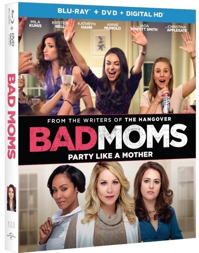 bad moms blu ray cover