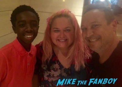 Caleb McLaughlin fans-meeting-the-cast-of-stranger-things-2