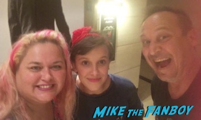 Millie Bobby Brown fans-meeting-the-cast-of-stranger-things-4