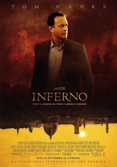 inferno movie poster rare promo
