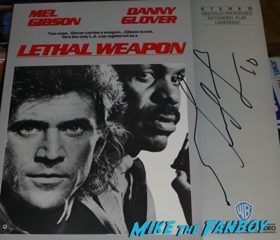 mel-gibson-signed-autograph-lethal-weapon-laser-disc-poster-psa-1