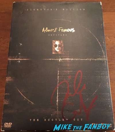 Billy Crudup Signed Almost Famous DVD PSA Autograph