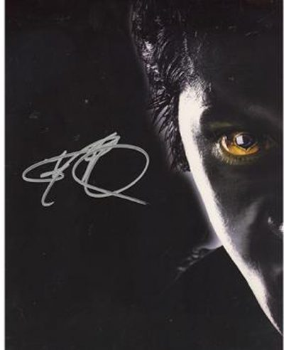 ray park signed photo