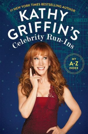 KAthy Griffin signed autograph book