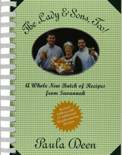 paula deen signed cookbook