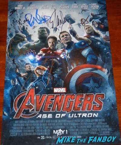 aaron-taylor-johnson-signed-autograph-poster-avengers-psa-rare-3