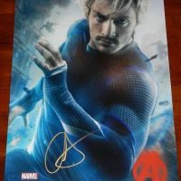aaron-taylor-johnson-signed-autograph-poster-avengers-psa-rare-3