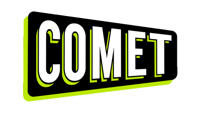 comet TV Logo Green
