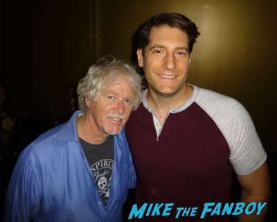 William Katt  fan photo meeting fans signing autographs 2016