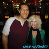Nancy Allen fan photo meeting fans signing autographs 2016