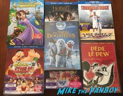 DVD prizes