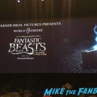 Fantastic Beasts world premiere new york