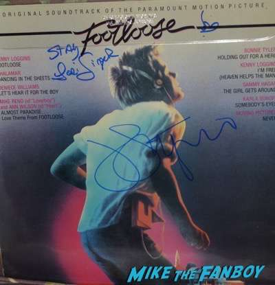 John Lithgow signed autograph footloose poster