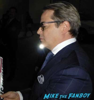 Matthew Broderick signing autographs jimmy kimmel live 2016