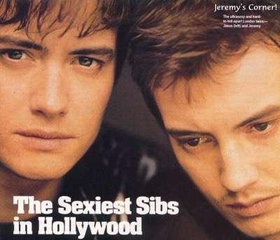 Jason Jeremy London hot sexy brothers