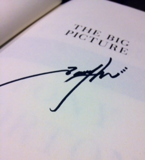 The Big Picture Tony Horton signed books