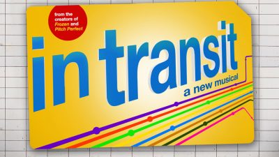 In transit playbill