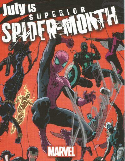 stan lee signed spider man card